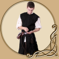 LARP Costume- Justus Leather Jerkin